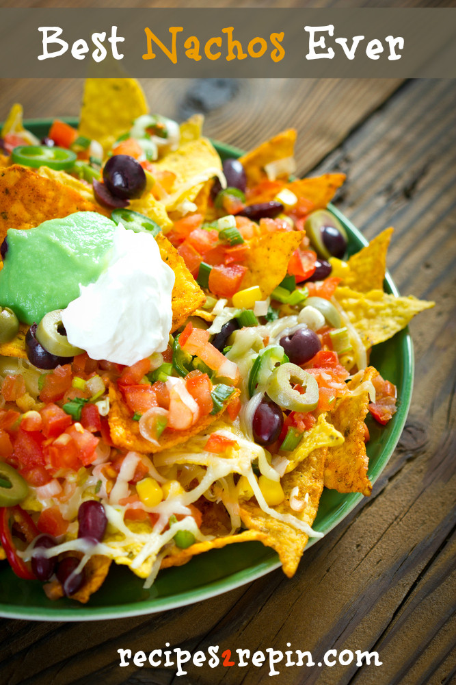 Best Nachos Ever Recipe | Delicious Recipes